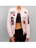 Sixth June Университетская куртка Patch розовый