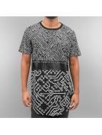 Sixth June Camiseta Cyber negro