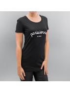 Sixth June Camiseta Parisiennes negro