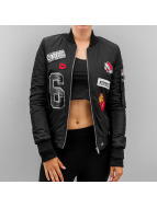 Sixth June College Jacket Patch black