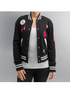 Sixth June College Jacket Teddy black