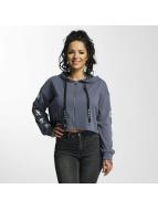 Sixth June Hoodies con zip Ultra Oversized blu