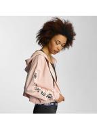 Sixth June Hoodies con zip Ultra Oversized rosa chiaro