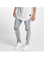 Sixth June Jeans slim fit Destroyed Washed blu