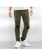 Sixth June Jeans slim fit Destroyed Inside Patch cachi