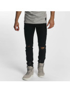 Sixth June Jeans slim fit Skinny Destroyed nero