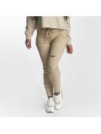 Sixth June joggingbroek Distressed beige