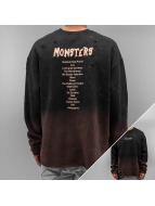 Sixth June Jumper Oversized Bleached Washed black