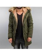 Sixth June Kış ceketleri Fur kaki