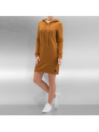 Sixth June Kleid Sweat Hooded beige