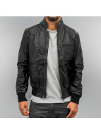 Sixth June Leather Jacket PU Leather black