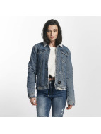 Sixth June Lightweight Jacket Jeans Sherpa blue