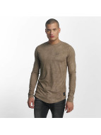 Sixth June Longsleeve Skinny Basic khaki