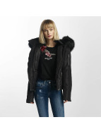 Sixth June Winter Fur Jacket Black