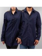 Sixth June overhemd Leo blauw