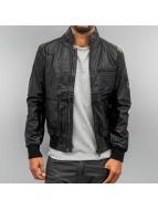 PU Leather Jacket Black ...
