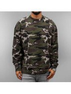 Sixth June Pullover Oversize Destroyed camouflage