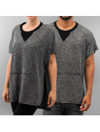 Sixth June Pullover Poncho gray