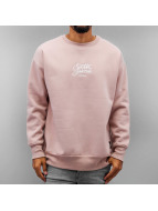 Sixth June Pullover Oversized Logo rosa