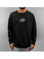 Sixth June Pullover Oversized Logo schwarz