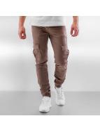 Sixth June Skinny Jeans Cargo bezowy