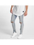 Sixth June Skinny jeans Destroyed Washed blå