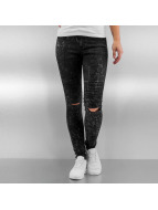 Sixth June Skinny Jeans Destroyed black