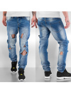 Sixth June Skinny Jeans Used blau
