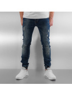 Sixth June Skinny jeans Elasticated blauw