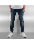 Sixth June Skinny Jeans Elasticated blue