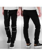 Sixth June Skinny Jeans Slim schwarz