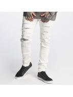 Sixth June Slim Fit Jeans Basic weiß