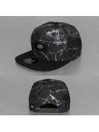 Sixth June snapback cap Marbre zwart