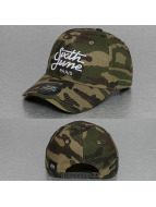 Sixth June Snapback Caps Curved Logo camouflage