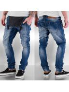 Sixth June Straight fit jeans Bib blauw