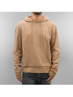 Sixth June Sweat à capuche Drop Shoulder beige