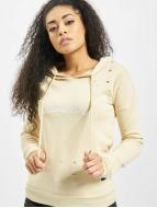 Sixth June Sweat capuche Parisiennes beige