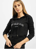 Sixth June Sweat capuche Parisiennes noir