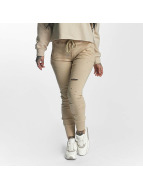 Sixth June Sweat Pant Distressed beige