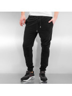 Sixth June Sweat Pant Destroyed Biker black