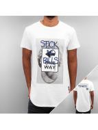 Sixth June T-Shirt Stick No Bills blanc