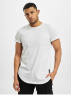 Sixth June T-shirt long oversize Rounded Bottom blanc