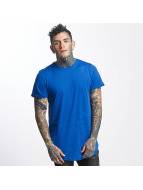 Sixth June T-shirt long oversize Rounded Bottom bleu