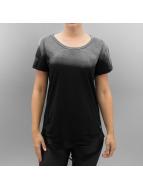 Sixth June T-shirt Destroyed Oversized nero