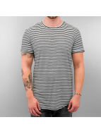 Sixth June t-shirt Stripe Zip zwart