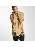 Sixth June T-shirts Destroyed Overside Suede beige