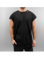 Sixth June Destroyed Muscle T-Shirt Black