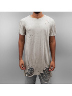 Sixth June T-skjorter Ultra Destroyed Oversized beige