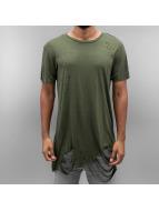 Sixth June T-skjorter Ultra Destroyed Oversized khaki