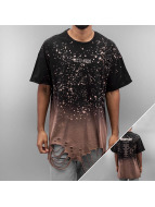 Sixth June Tall Tees Oversized Bleached Washed noir
